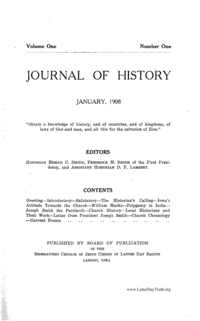 Journal Of History (see periodical: J)