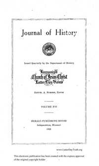 Journal Of History