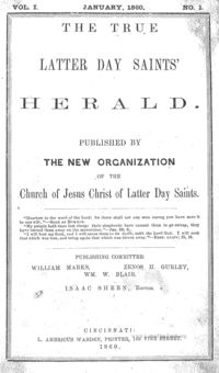 Saints Herald (see periodical: S)