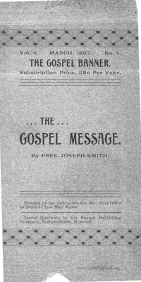 The Gospel Message [The Gospel Banner volume 4]