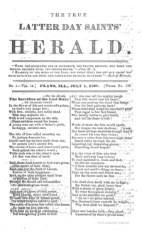 The True Latter Day Saints' Herald, volume 12