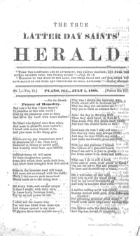 The True Latter Day Saints' Herald, volume 14
