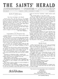 The Saints' Herald, vol. 67, 1920 (PDF)