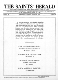 The Saints' Herald, vol. 79, 1932 (PDF)