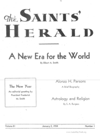 The Saints' Herald, volume 81
