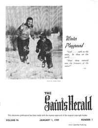 The Saints' Herald, volume 96, 1949