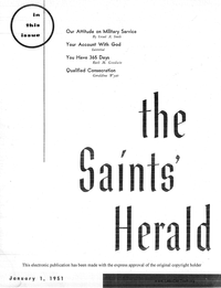 The Saints' Herald, volume 98