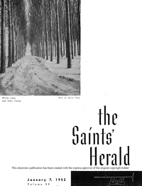 The Saints' Herald, vol. 99, 1952