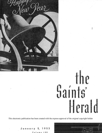 The Saints' Herald, vol. 100, 1953