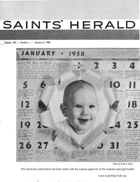 Saints' Herald, volume 105