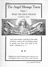 What Did Jesus Preach [The Angel Message Tracts Chapter 1]