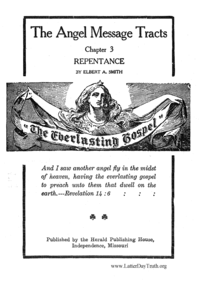 Repentance [The Angel Message Tracts Chapter 3]