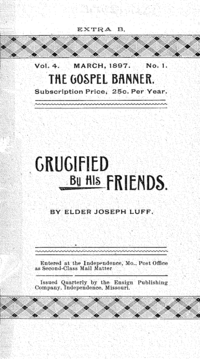 Crucified By His Friends [The Gospel Banner volume 4]