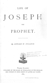 Life Of Joseph The Prophet