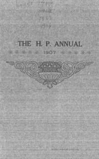 The H. P. Annual (see Periodical: H)