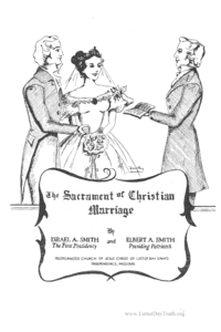 The Sacrament Of Christian Marriage