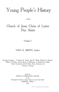 Young People's History Of The Church Of Jesus Christ Of Latter Day Saints (see Periodical: Y)