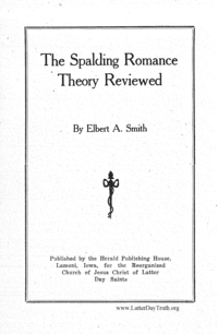 The Spalding Romance Theory Reviewed