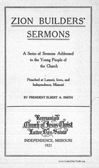 Zion Builders' Sermons, 1921