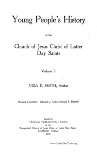 Young People's History Of The Church Of Jesus Christ Of Latter Day Saints - volume 2