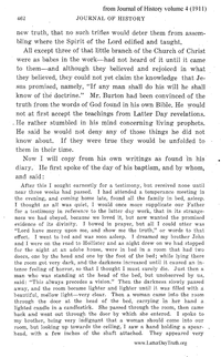 Dream By Joseph Burton [from Journal Of History vol. 4], 1911