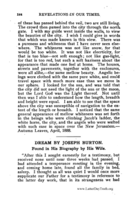 Dream By Joseph Burton [from Revelations In Our Times]