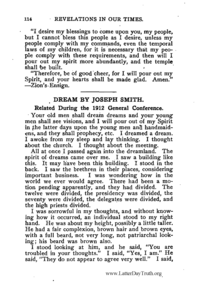 Dream Of Joseph Smith III Seeing John The Beloved [from Revelations In Our Times]
