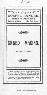Creed Making [The Gospel Banner volume 9]