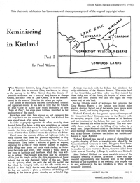 Reminiscing In Kirtland [from Saints Herald volume 105], 1958 (PDF)