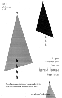 1951 Herald House Christmas Book [from The Saints' Herald volume 98]
