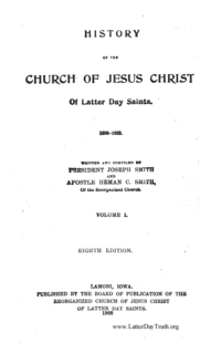 History Of The Church Of Jesus Christ Of Latter Day Saints (see periodical: H)