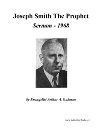Joseph Smith The Prophet [Audio Sermon], 1968