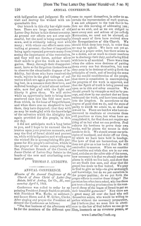 1864 Annual General Conference Minutes