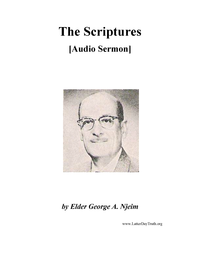 The Scriptures [Audio Sermon], n.d. (mp3)
