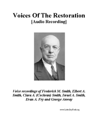 Voices Of The Restoration [Audio Recording], n.d. (mp3)