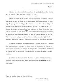 1853 Spring General Conference Minutes [from Early Minutes Of The Reorganization, 1852-1860 pages 8-10]