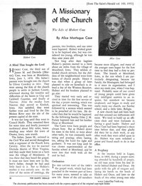 The Life Of Hubert Case A Missionary Of The Church [from The Saints' Herald vol. 100], 1953]