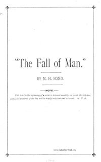 The Fall Of Man, n.d.