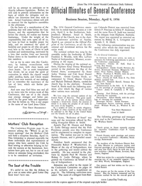 1956 Official Minutes Of General Conference [from The 1956 Saints' Herald Conference Daily Edition] (PDF)