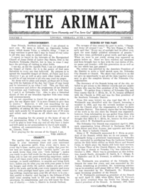 The Arimat, vol. 1, 1919-1920 (PDF)