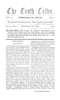 The Truth Teller, vol. 2, 1868 (PDF)